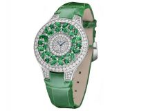 Graff Butterfly Haute Joaillerie Emerald Ladies Watch Model BF32WGED
