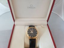 Omega 4614.50.01 De Ville Prestige Small Seconds Subdial Red Gold Gents Watch