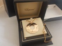 Chopard Chopardissimo Rose Gold Disk Pendant