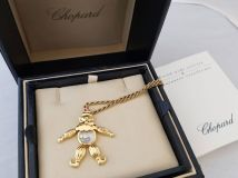Multi-Gem 'Happy Diamonds' Clown Pendant, Chopard