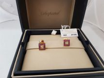Chopard Happy Diamonds Square Earrings  846881-5001