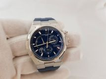 Vacheron Constantin  Blue  Overseas Dual Time Automatic Men's Watch 47450000A-9039