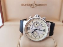 Ulysse Nardin Marine Collection Maxi Marine Chronograph 353-66-3/314