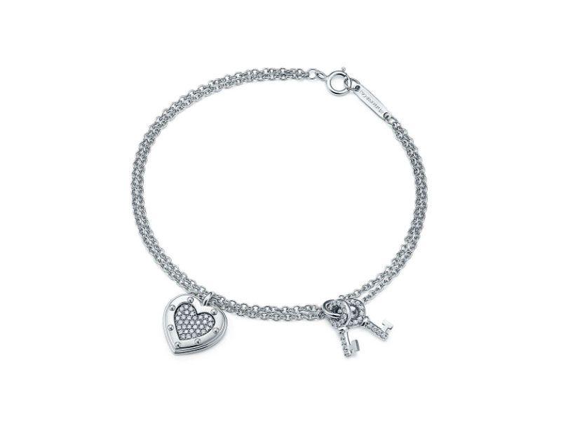 купить браслет Tiffany Co Return To Tiffany Love Bracelet белое