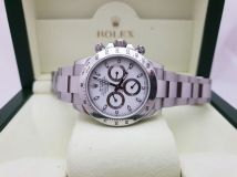 Rolex Cosmograph Daytona Steel 116520 White Dial